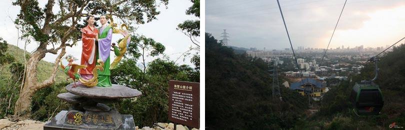三亚凤凰岭公园实景赏析