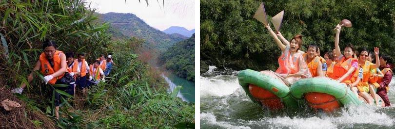 三亚万泉河漂流实景赏析