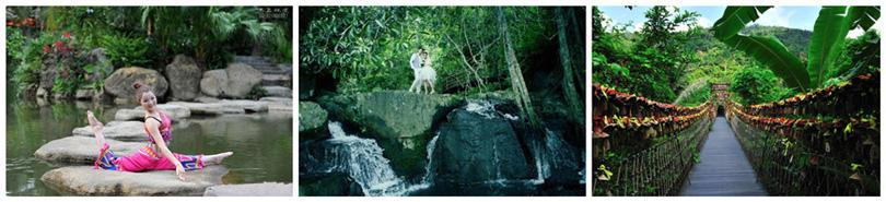 三亚呀诺达雨林景区欣赏