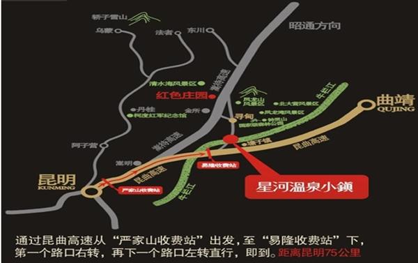 交通路线指示图