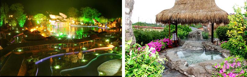 安徽巢湖金孔雀温泉实景欣赏