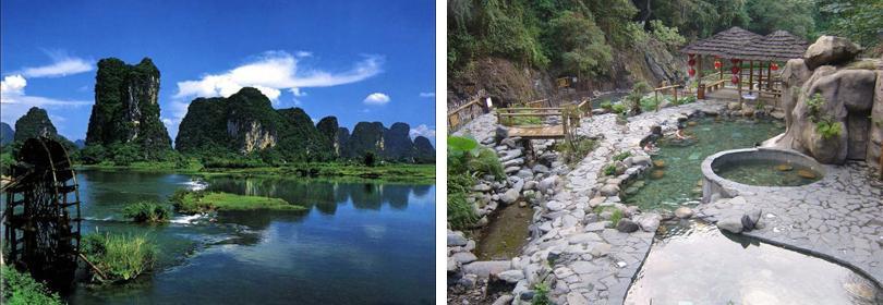 桂林温泉图片欣赏