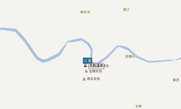桂林龙胜温泉自驾图