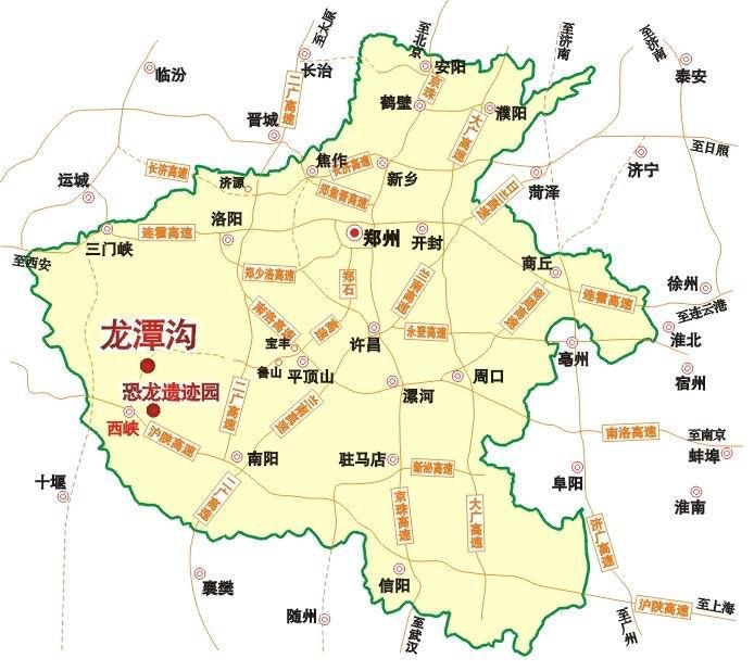 龙潭沟景区位于河南省伏牛山脉腹地的西峡县双龙镇,距西峡县城30公里