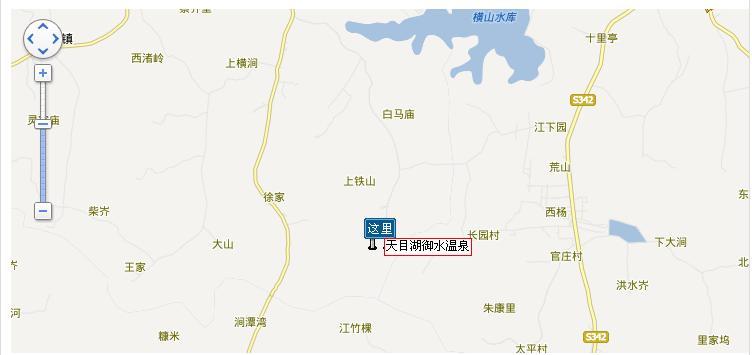 南京横山风景区地图