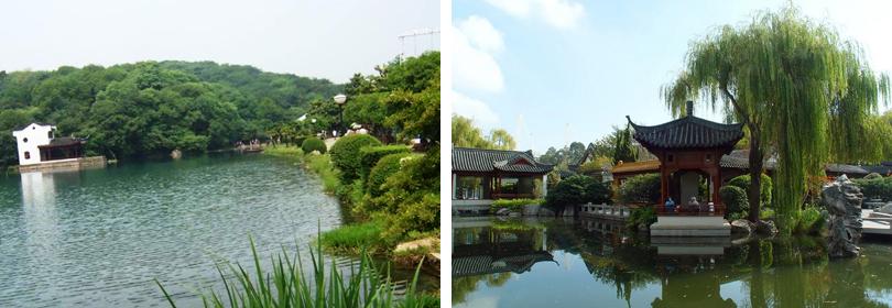 珍珠泉景区图片