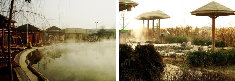 咸阳地热城温泉图片