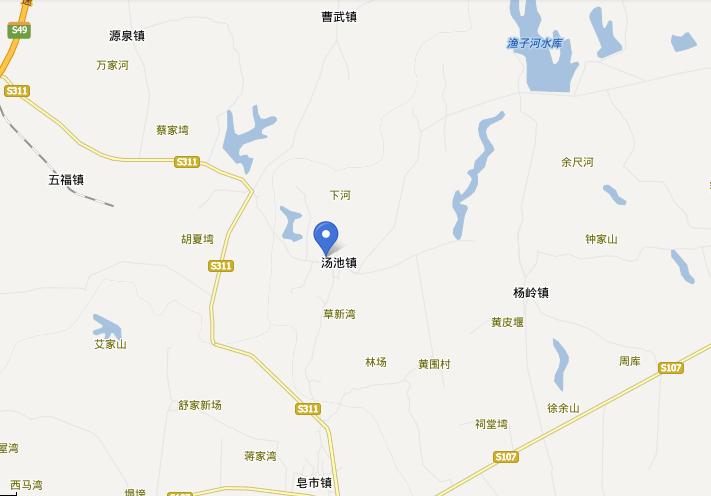 应城汤池温泉自驾路线图