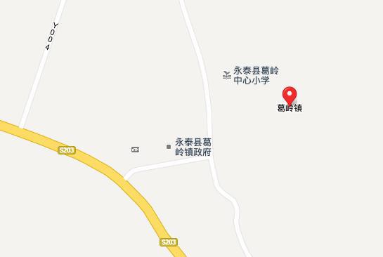 永泰赤壁温泉地图