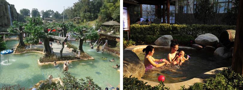 紫龙湾温泉实景欣赏
