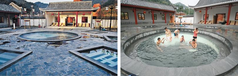 庐山西海温泉实景欣赏
