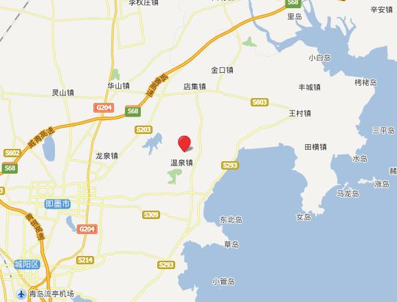 金麒玉麟温泉山庄自驾路线图