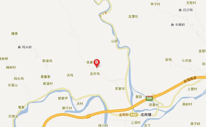 浙西大龙湾风景区自驾路线图