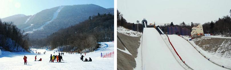 亚布力新体委滑雪场