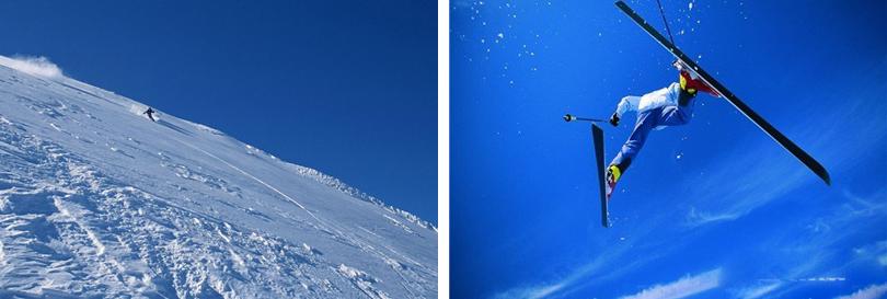 八达岭滑雪场实景欣赏