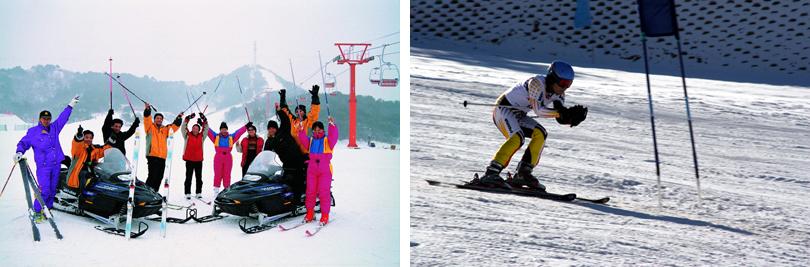 北京云佛山滑雪场实景欣赏