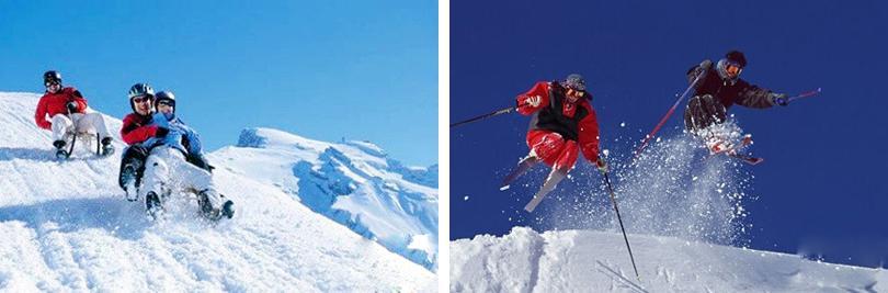 北京雪世界滑雪场实景欣赏