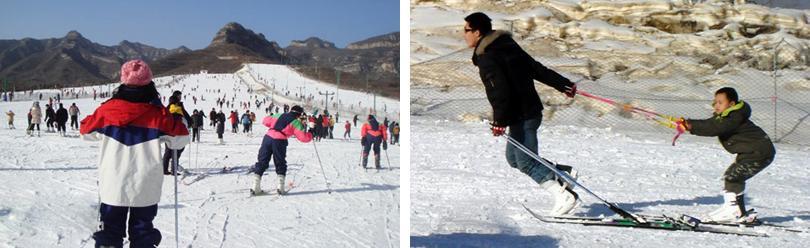 清凉山滑雪场