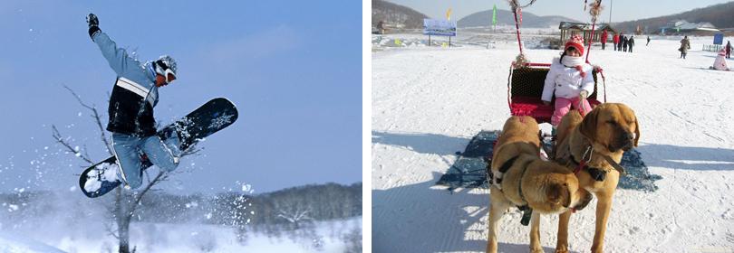 秦皇古道滑雪场门票