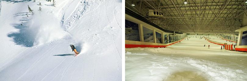 乔波冰雪世界实景欣赏
