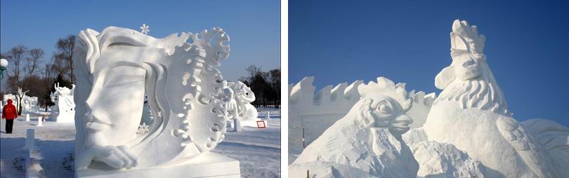 哈尔滨雪博会实景欣赏