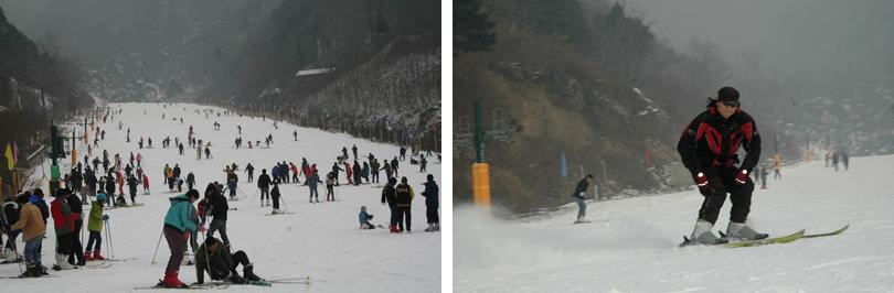 翠华山滑雪门票