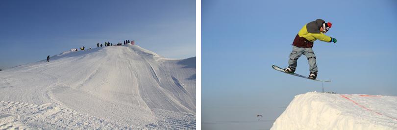 棋盘山冰雪大世界   坐落于风光秀丽的棋盘山风景区秀湖之滨,地理