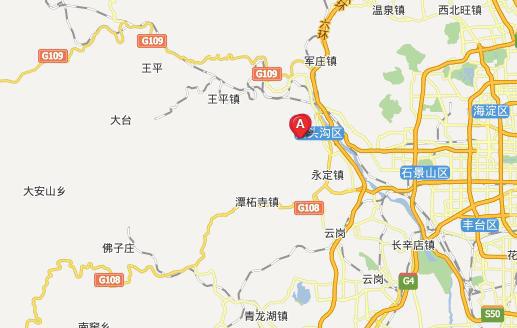 凤阳明皇陵地图