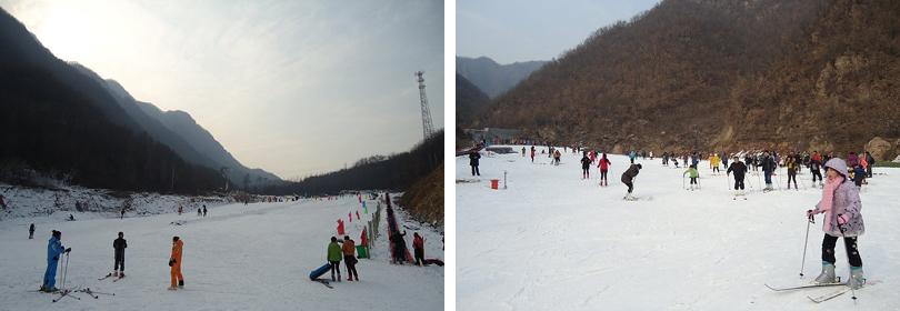 尧山滑雪场实景欣赏