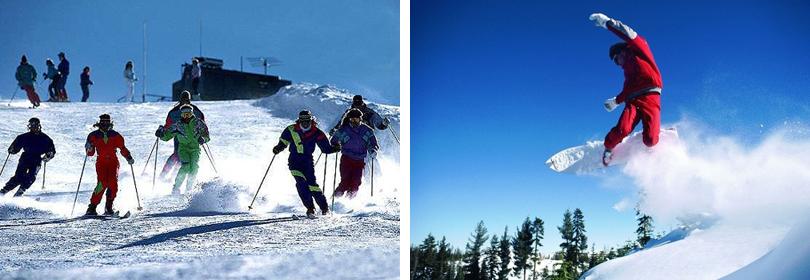 嵩山滑雪场实景欣赏