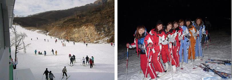 嵩山滑雪场图片