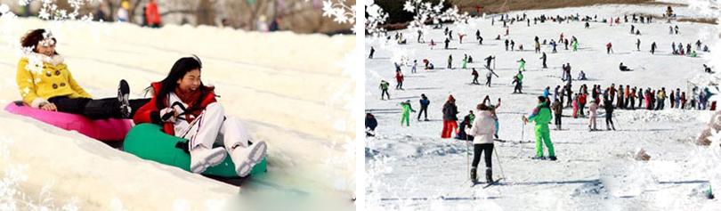 石京龙童话冰雪乐园实景欣赏
