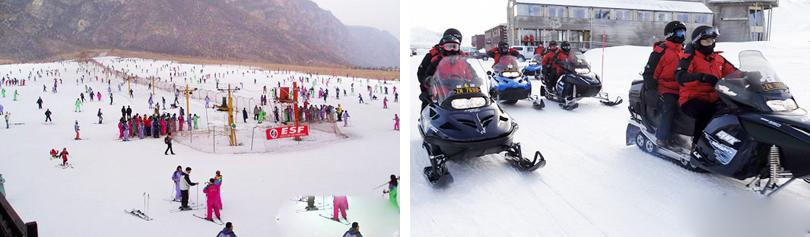 石京龙童话冰雪乐园图片