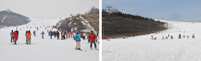 万龙八易滑雪场实景欣赏