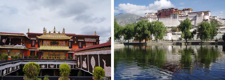布达拉宫实景图片