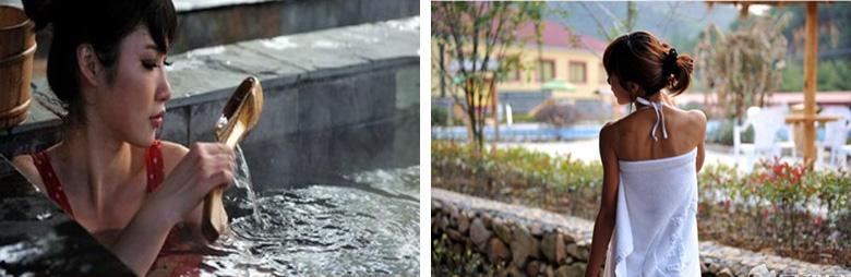 德清月牙泉温泉实景图片