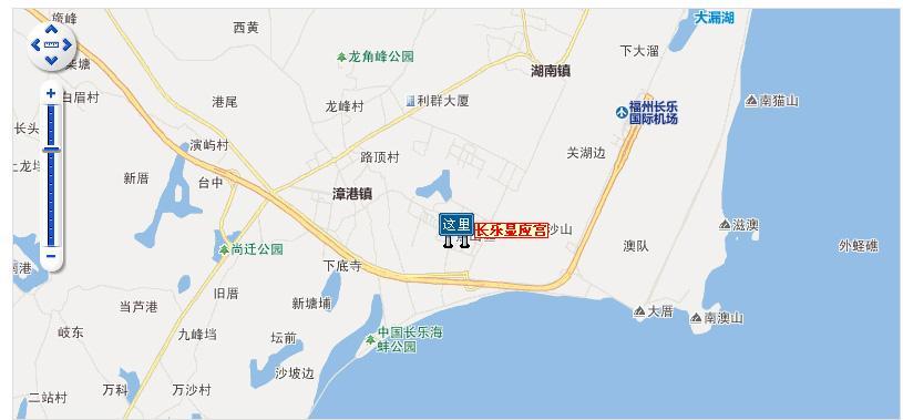 长乐显应宫地图展示