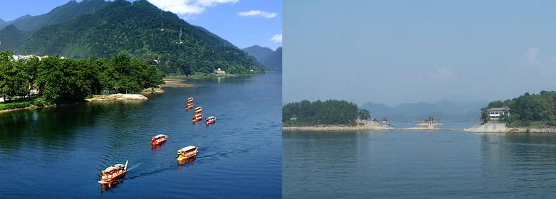 浙江千岛湖新安江大坝图片
