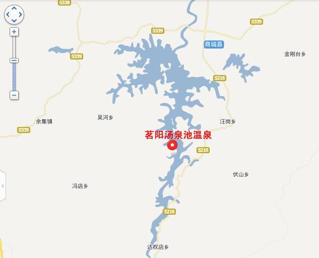 茗阳汤泉池温泉地图展示
