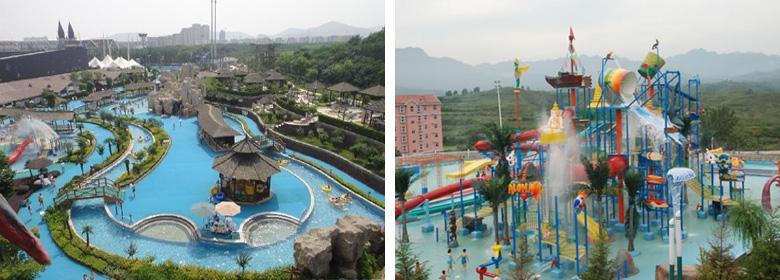 济南章丘奥普乐水上乐园实景图片