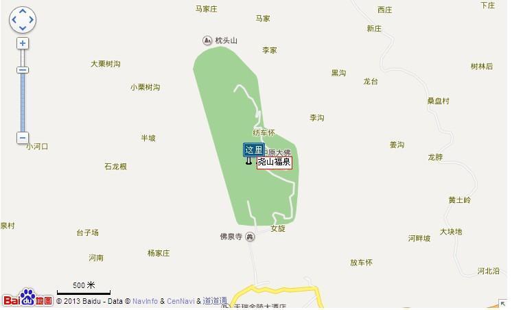 福泉温泉地图展示