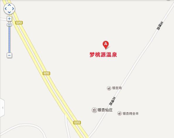 梦桃源温泉地图展示