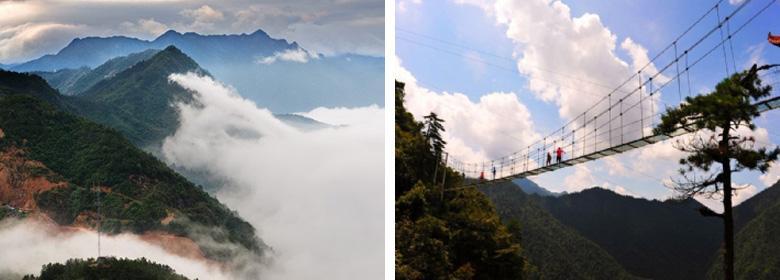 作为大觉山风景区的中心景区——莲花山大觉寺,不仅是儒,佛