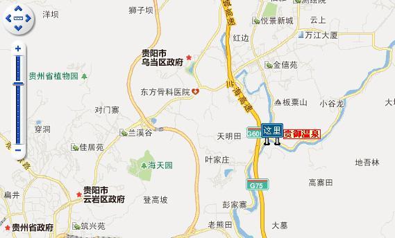 贵御温泉交通路线图