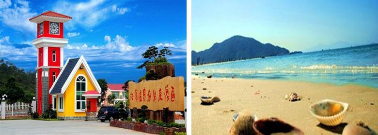 惠州海滨温泉实景图片赏析