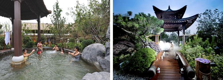 御豪汤山温泉实景图片