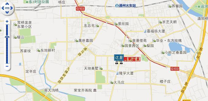 隆鹤温泉路线指南