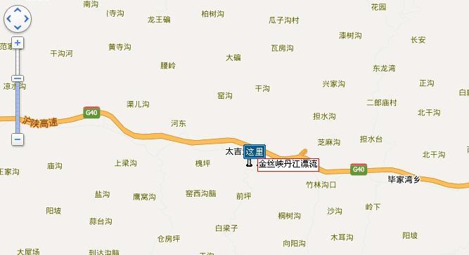 陕西商洛旅游地图