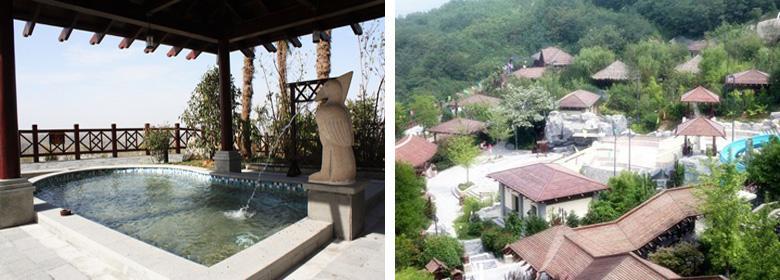 汤峪天潭温泉实景图片