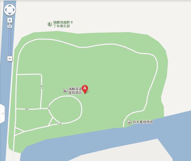 瑞麟湾温泉地图展示